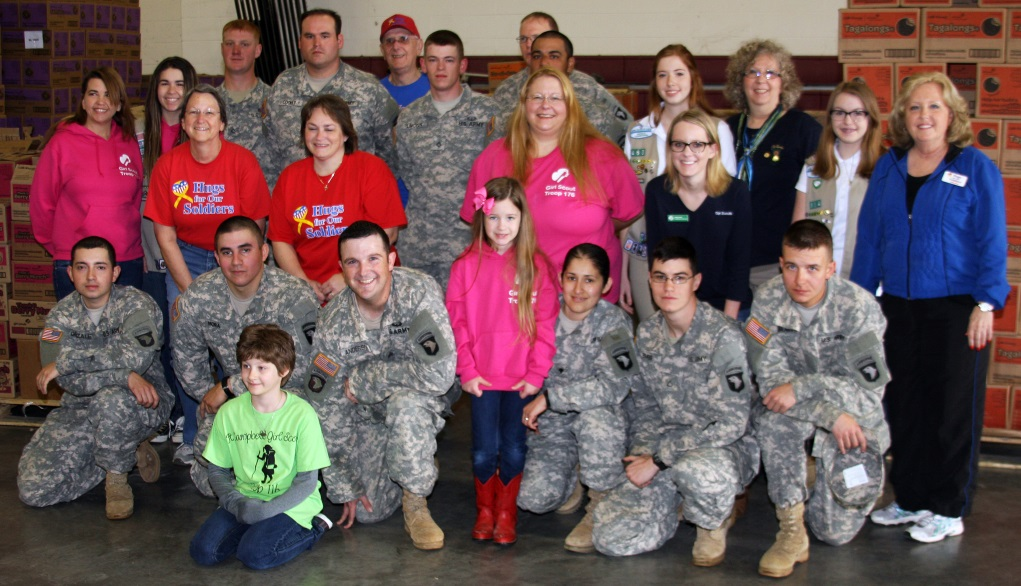 M&W Logistics Group Delivers Girl Scout Cookies For Soldiers