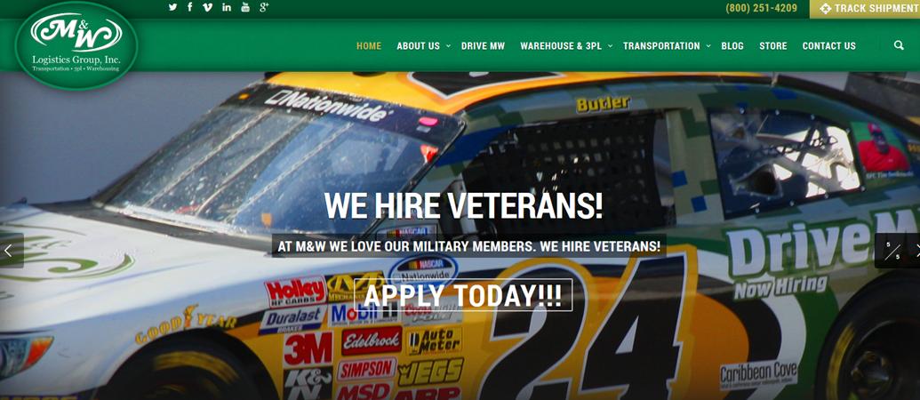 M&W Logistics Group New Website