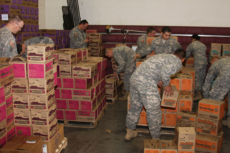 Girl Scouts of Middle Tennessee donated more than 24,000 packages of Girl Scout Cookies to Fort Campbell soldiers through their Gift of Caring program on ...