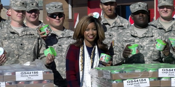 M&W Logistics Group Supports the Girl Scouts and the Military
