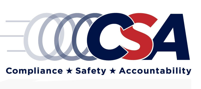 Compliance Safety Accountability (CSA) Logo